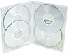 DVD-boks Amaray MultiBox 15 mm 4-6 discs KLAR PP