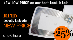 New low price on RFID book labels!