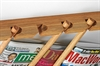 Newspaper stick 48 cm, tabloid/magazine, OAK